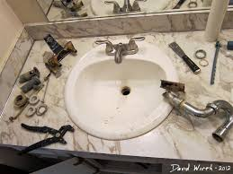 How To Change A Bathroom Faucet How To Install Bathroom Sink Faucet Step 1 Sinks Install