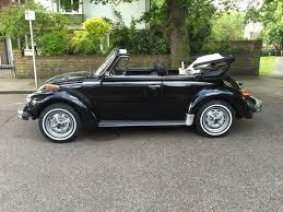 vintage volkswagen convertible vw beetle convertible 1979 lhd black u2013 lhd cars wanted