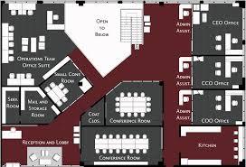 Ceo Office Floor Plan Commercial U2014 Christian Nilon Interior Design