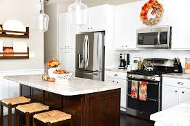 fall kitchen decorating ideas kitchen fall house tour with decorating ideas and projects