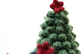 according to matt creative christmas crocheted christmas trees