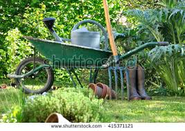 garden wheelbarrow stock images royalty free images u0026 vectors