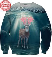 water deer sweater aloha from deer