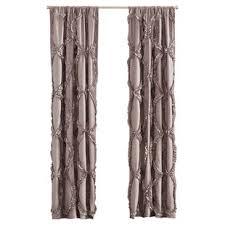 Sheer Ruffled Curtains Gray Ruffle Curtains Wayfair