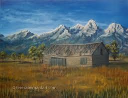 10 tips for painting mountains teresa bernard oil paintings