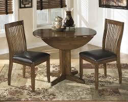 ashley furniture stuman round drop leaf dining table set best