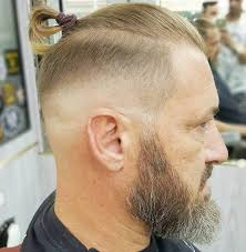man bun short sides 50 classy haircuts and hairstyles for balding men bald man and man bun
