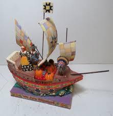 jim shore thanksgiving mayflower ship 2005 we are blessed