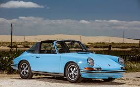 vintage porsche blue photo porsche 1971 73 911 s 2 4 targa 911 antique light 3840x2400