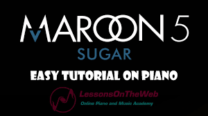 tutorial piano simple learn how to play sugar maroon 5 on piano beginner piano tutorials