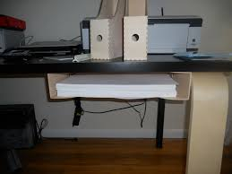 Under Desk Storage Drawers by Under Desk Printer Stand With Drawers Decorative Desk Decoration