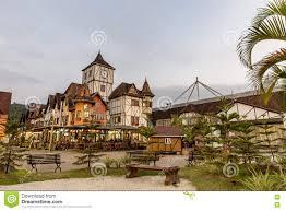 german village park blumenau santa catarina editorial image