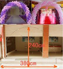 aliexpress com buy garden decorations balloon arch base big size