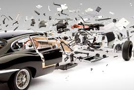 look at these amazing exploded views of classic sports cars wired