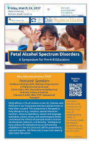 fetal alcohol spectrum disorders a symposium for pre k 8