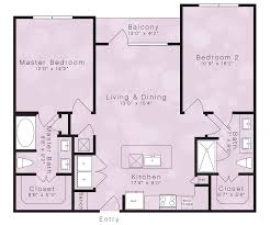 spacious floor plans u2013 elan city lights