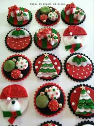 Christmas Cake Decorations Toppers by 32 Best Christmas Cupcakes Images On Pinterest Christmas Baking