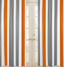 Orange White Curtains Collection In Orange And White Curtains And 33 Best Curtains