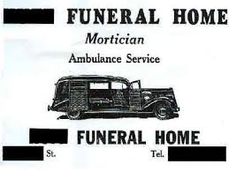 funeral homes jacksonville fl funeral home ambulances the jacksonville historical society