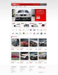 volvo website website template 47402 cars market rental custom website template