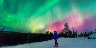 places you can see the northern lights 1001 places to visit amazing northen lights alaska