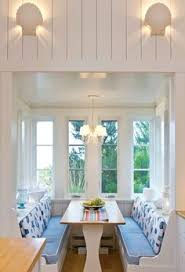 25 Space Savvy Banquettes With Space Savvy Breakfast Room Banquettes Small Breakfast Nooks