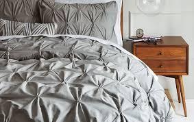 venezia pleated duvet cover shams west elm for stylish property