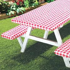 vinyl picnic table and bench covers fitted picnic table covers stylish 3 piece fitted picnic table bench