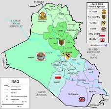 Baghdad Map Military Facilities Iraq