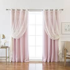 Light Pink Blackout Curtains Light Pink Blackout Curtains Wayfair