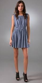 denim dresses for that boho chic look