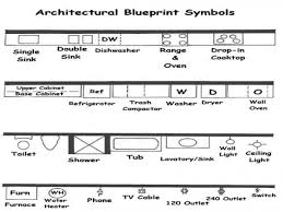 old blueprint symbols