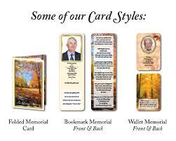 memorial cards data print memorial cards