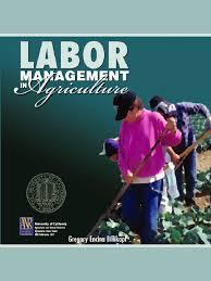 agriculture labor management performance appraisal employment