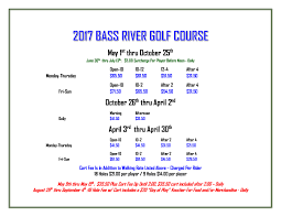 yarmouth golf bass river u0026 bayberry hills