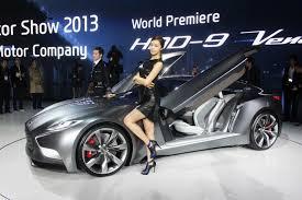 hyundai supercar concept vwvortex com hyundai u0027s new hnd 9 concept with v6 turbo hints at