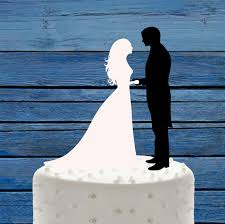 black wedding cake toppers wedding cake topper black and white mr mrs wedding cake topper