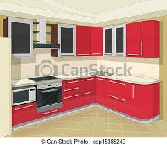 inter cuisine interior appearance vector clip eps images april 2018 55
