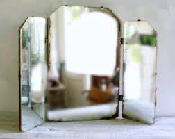 Tri Fold Bathroom Mirror by Fine Tri Fold Bathroom Mirror 5 Catherine 3 Way Vanity Trifold