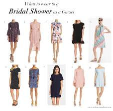 what to wear to a bridal shower as a guest cashmere u0026 jeans