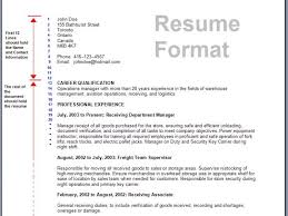 Download Sample Resume by Trendy Inspiration Sample Resume Formats 13 Download Format Write