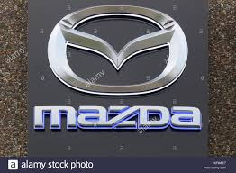 mazda emblem mazda logo stock photos u0026 mazda logo stock images alamy
