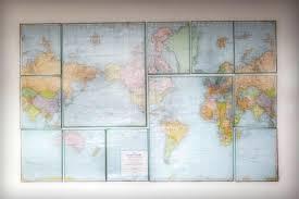 Map Wall Art Plus Full Size Living World Map Wall Art Decor