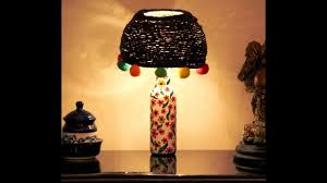 Easy To Make Home Decorations Diy Home Decor Lampshade Easy To Make U0026 Gorgeous Youtube