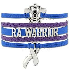 ra ribbon custom infinity butterfly ra warrior awareness ribbon