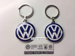 original volkswagen logo 2x vw genuine oem vw enamel keyrings golf scirocco bora passat