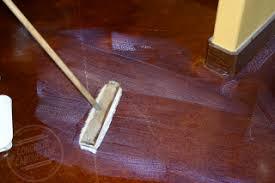 how to apply floor wax