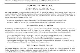 Sample Realtor Resume by Real Estate Resume Samples Cv01 Billybullock Us