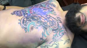 last minute octopus chest tattoo youtube