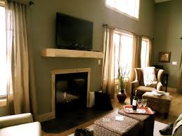 Big Window Curtains Interesting Living Room Curtains For Big Windows Contemporary